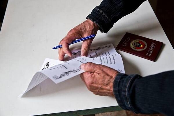 """Фермеры и шахтеры Луганщины проигнорировали """"референдум"""" сепаратистов - Цензор.НЕТ 3048"""