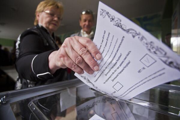 На Донетчине СБУ изъяла 10 тысяч поддельных бюллетеней незаконного референдума - Цензор.НЕТ 1721