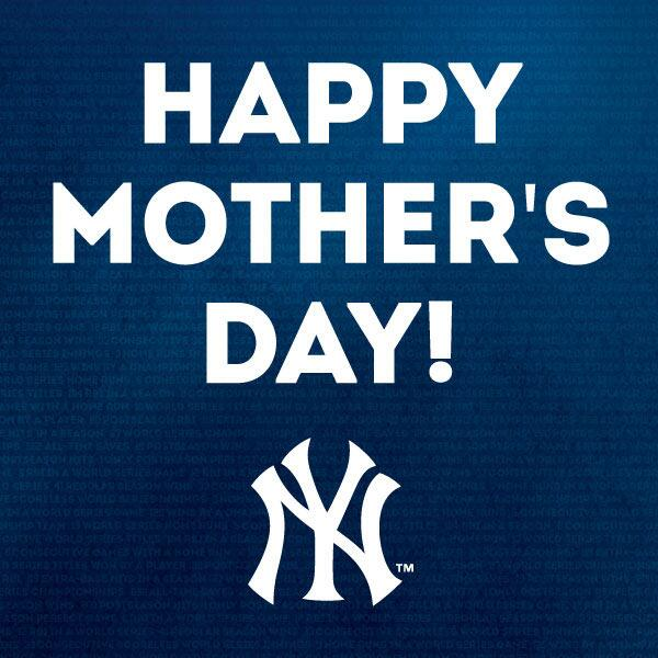 New York Yankees Mothers Day