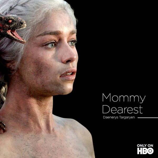 Happy Mother of Dragons Day. #MothersDay @GameOfThrones http://t.co/BZuvkGbfUV