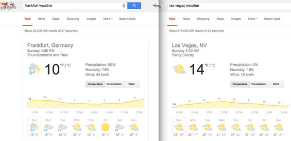 brentwpeterson: #MagentoImagine vs #mm14de weather report - Looks like Vegas has more upward bandwidth for temps http://t.co/DeHrEq6gew