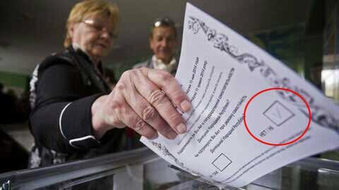 Сепаратисты не определились, препятствовать или нет президентским выборам - Цензор.НЕТ 547