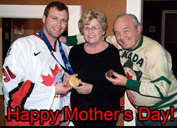 Martin Brodeur On Twitter Love You Mom Happy Mother S Day To All