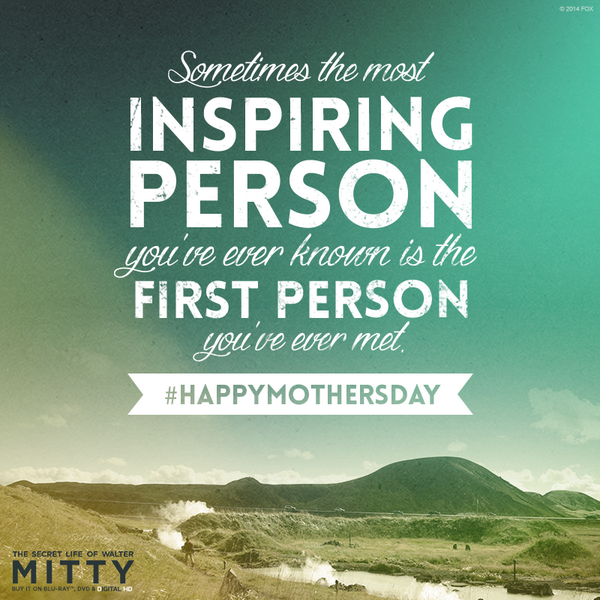 Walter Mitty Quotes | Walter Mitty Movie On Twitter A Card For All The Mothers