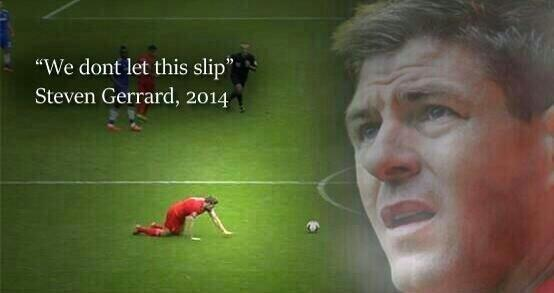 All the best Steven Gerrard memes as captains slip v Chelsea costs Liverpool the title to Man City