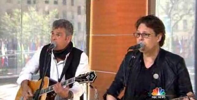 Kasim Sulton with Mark Rivera