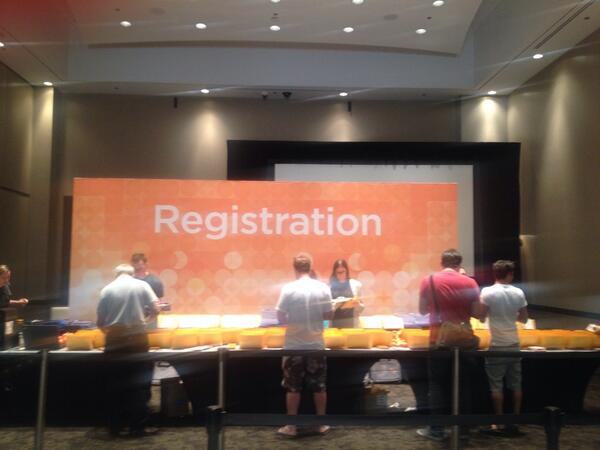 magento: Already rocking at the Hard Rock for #MagentoImagine  ?  Early registration is now open in festival hall. http://t.co/P29mm2tFeY
