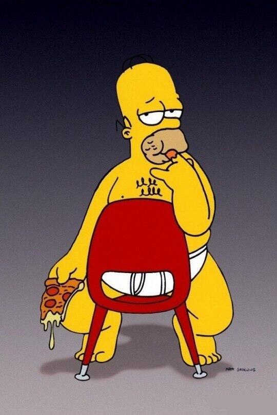 Гомер картинки приколы, приятного воскресного вечера
