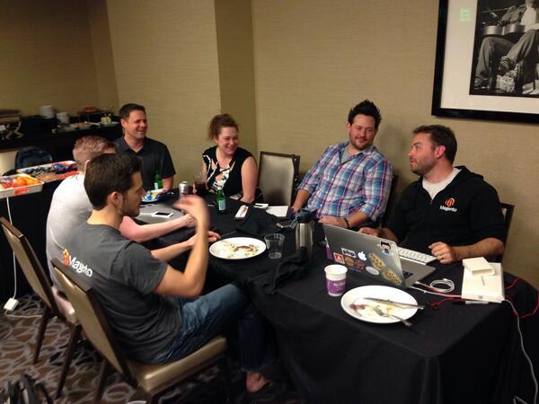 lfcolon62: Hackathon crew. #MagentoImagine #hackathon http://t.co/pqjECjFTHB