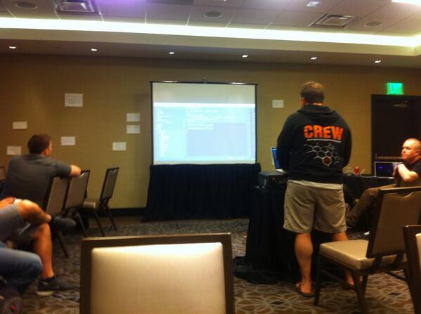 allanmacgregor: @benmarks turn at #magentoimagine hackathon http://t.co/jbQ43LvEKq