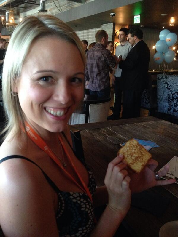 JoshuaSWarren: Mini grilled cheese at #PreImagine! (@ Culinary Dropout - @foxbigkitchen w/ 2 others) http://t.co/6OfV1IqTdm http://t.co/LqrGYiNuUA
