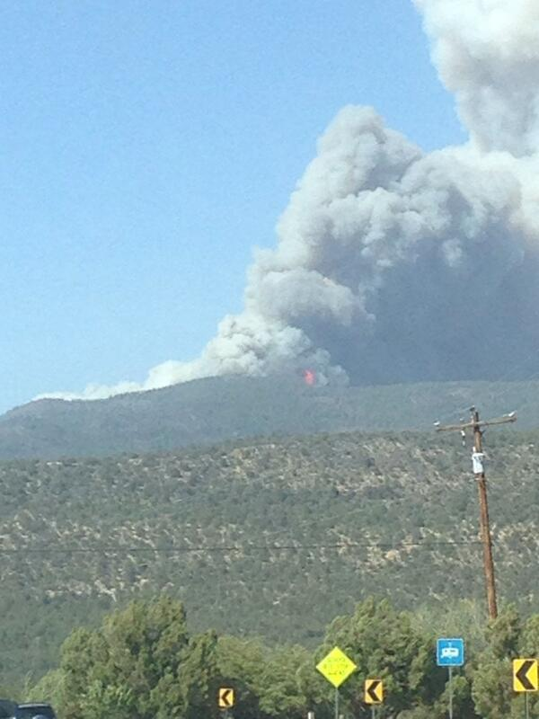 #nmfire #SignalFire @krqegarate Fire north of Silver City http://t.co/HrkcgYMBzs