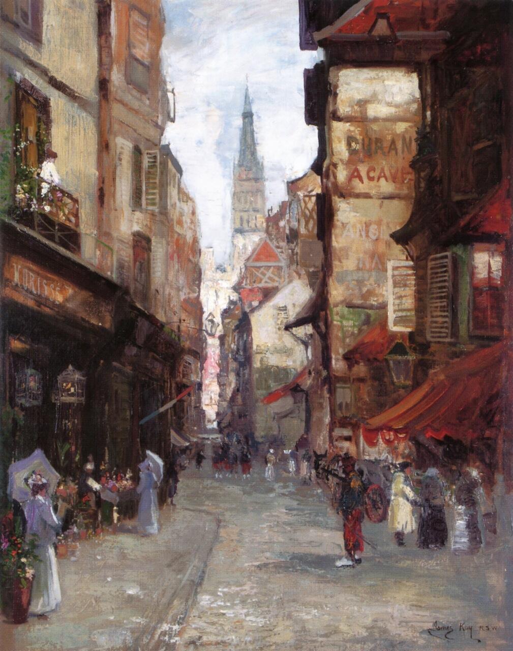 Rue Saint Romain, Rouen