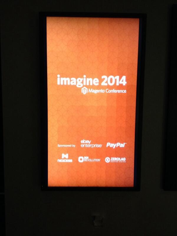 netz98: Starting soon #MagentoImagine http://t.co/q4PWu8eBTH