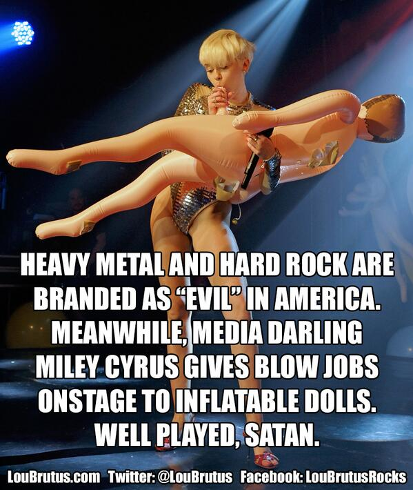 If you believe hard rock & metal get a raw deal in the media, be sure to share this. #Music #HeavyMetal #MileyCyrus http://t.co/13QDWqTA2Q