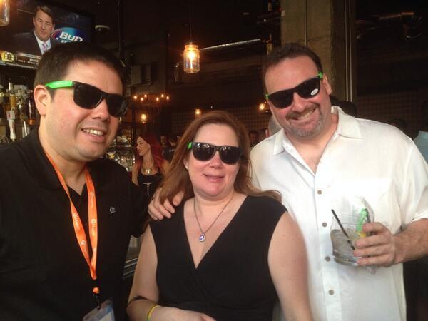 ebizmarts: Rocking the SageShades at #MagentoImagine http://t.co/GFCbgIJ8sl
