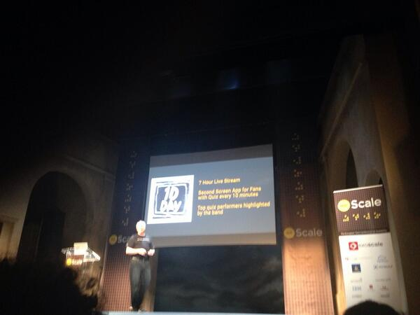 w00t?! Boy bands in tech conference!? #dotscale http://t.co/Zh3fT2OSuB