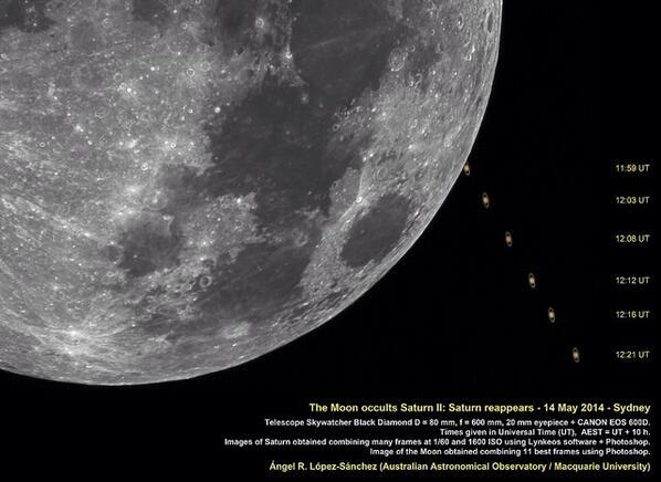 ¿Visteis mi secuencia procesada de ocultación d Saturno por Luna el miércoles 14 desde Sydney? http://t.co/vPosw5v742 http://t.co/a91l6bOQwH
