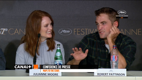 "LOL the question! 'who was the better passenger?"" Rob: ""they're both like 7' LOL http://t.co/6TJ8qdZT95"