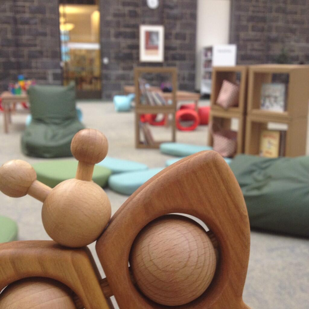 Our brand new Play Pod space for children & families is now open! #StateLibraryVic http://t.co/1CwQBPzq6O