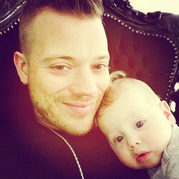 Photo of Gers Pardoel & his  Son  Goud Pardoel