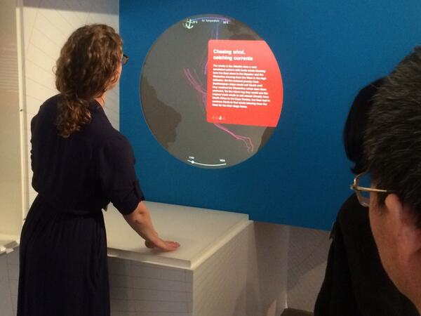 Interactive exploration of historical climate data as demoed by @johannakz #MetDataBeauty http://t.co/n1vvzvMtVZ