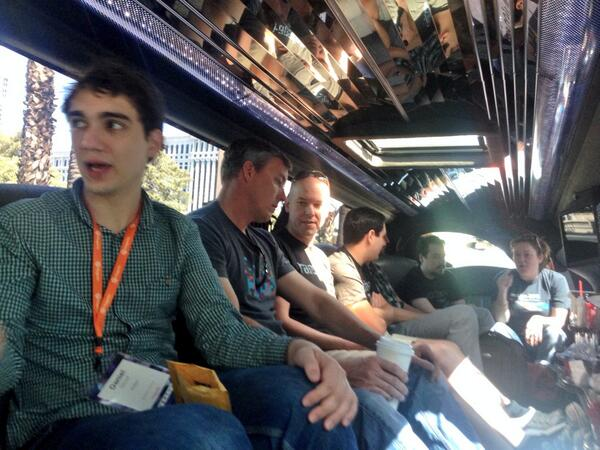 benmarks: Headed out for some community fun during #MagentoImagine http://t.co/7NBEIY5T70