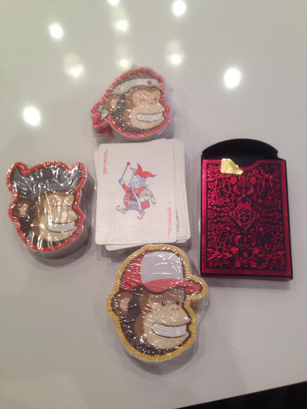 ebizmarts: Talking about cool stuff, check @MailChimp's swag at #MagentoImagine http://t.co/inosHD1BjM