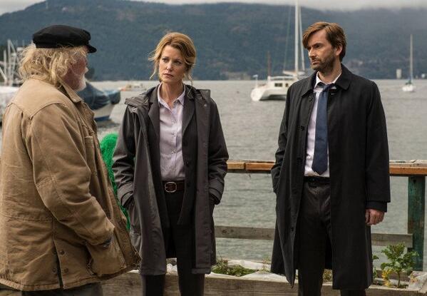 David Tennant, Nick Nolte and Anna Gunn in Gracepoint