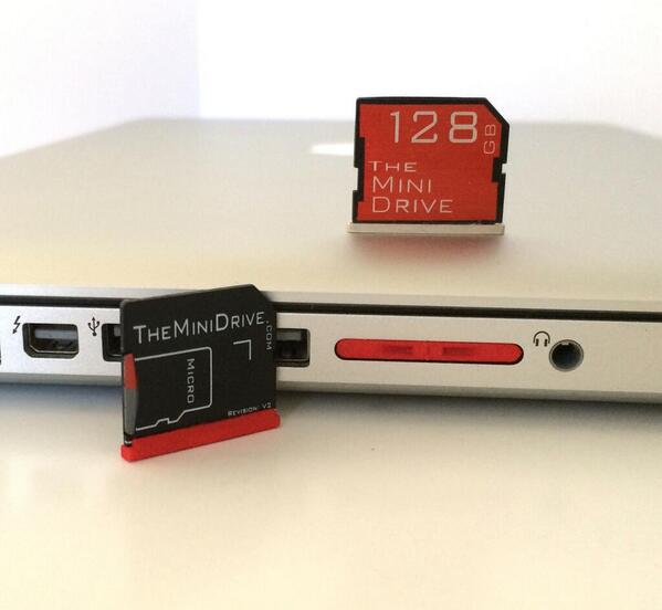 New Red Minidrive Adapters code 5 for $5 off! New 128GB MiniDrive code 10 for $10 off! #deals http://t.co/5OhWleXaU9 http://t.co/DfgW7OiNwt