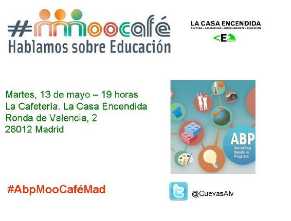 Cartel para #AbpMooCaféMad #ABPmooc_intef @ABPmooc @mjgsm 13 inscrit@s ¿te apuntas? https://t.co/IJvLOipuNj http://t.co/Lcv8rBTz10