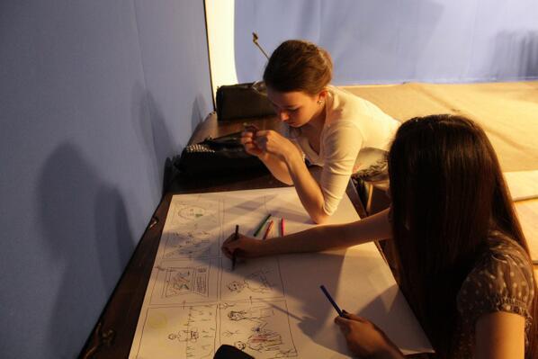 О рабочих буднях студентов кафедры, которые трудятся над созданием креативных роликов http://t.co/44moXdy0eJ http://t.co/ccguM5Jw83