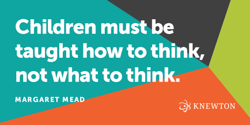 """""""Children must be taught how to think, not what to think."""" --Margaret Mead #education http://t.co/s0z42Wy6NP"""
