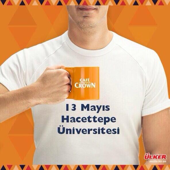 #cafecrown #cafecrowndansonra 13 Mayıs #hacettepe http://t.co/IoR0YjHl9l