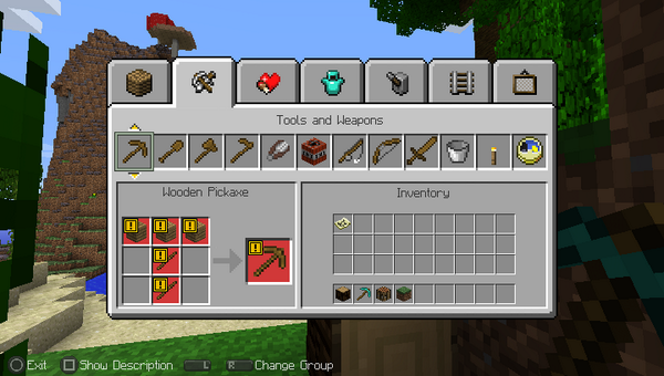 Minecraft Ps Crafting