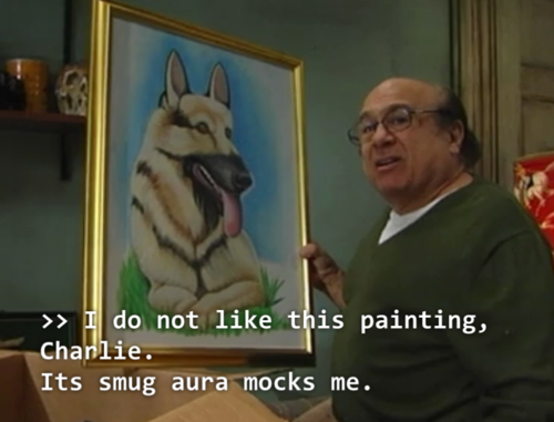 Frank Reynolds On Twitter I Do Not Like This Painting Charlie