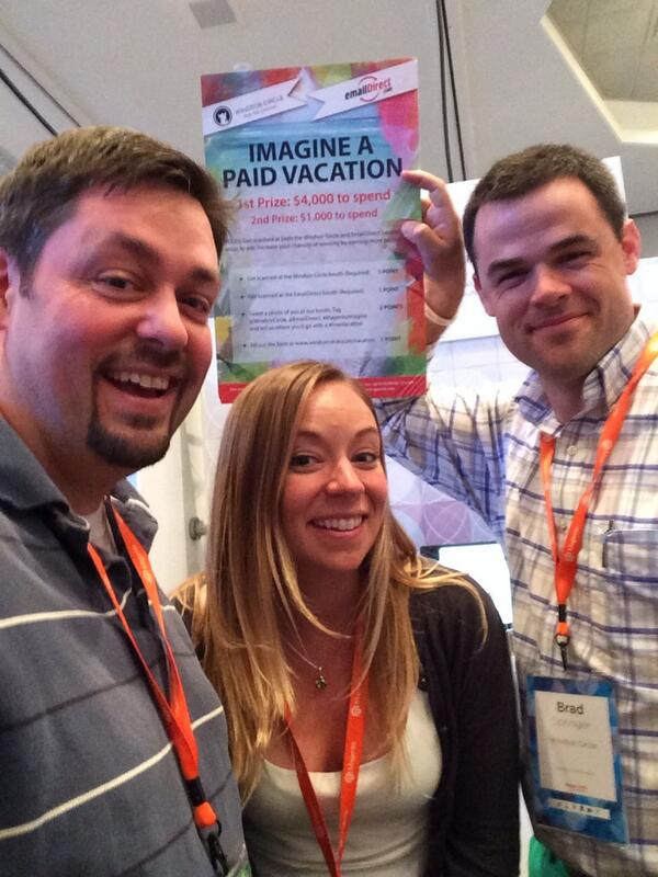 ecommadvisor: Hanging with the @windsorcircle @emaildirect trying to win a #freevacation at #MagentoImagine http://t.co/NPQQ2XfTPK