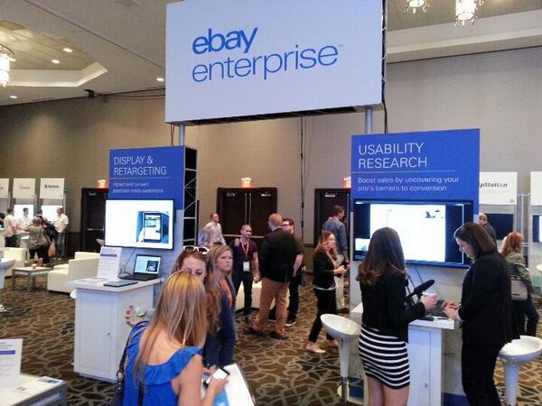 magento_rich: The #ebayEnterprise booth. #magentoimagine http://t.co/VpjKWzi691