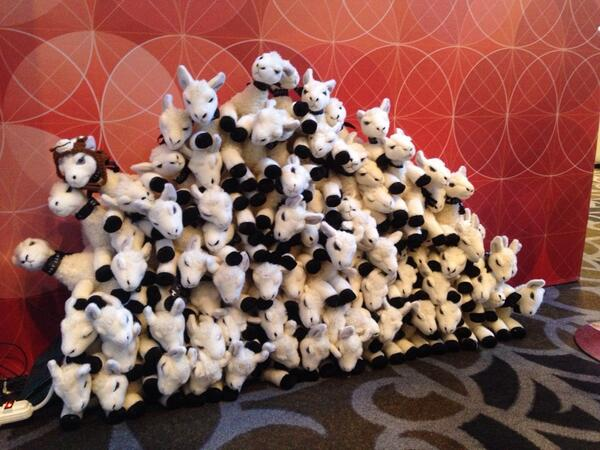 classyllama: Merchants at #magentoimagine: Come to Classy Llama's booth for a free plush llama! http://t.co/xQt9Lg06js