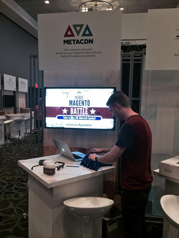metacdn: Getting ready for #MagentoImagine. Come see @jamesbroberg and @camolowe at Marketplace Booth #68B for awesome swag http://t.co/0ys8ks1MEX
