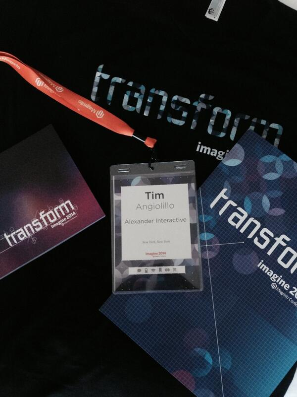 aiaio: All badged up and registered for #MagentoImagine -- give us a shout if you're in Vegas! http://t.co/RntguPEGPN