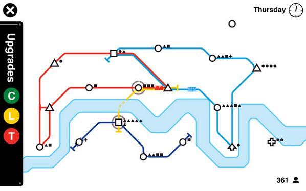 Here Technologies On Twitter Be A Subway Map Maker In Mini Metro