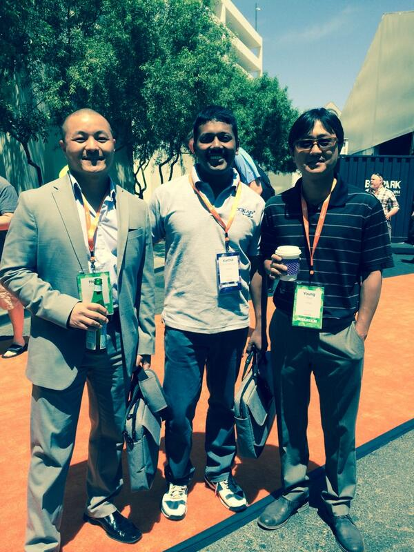DCKAP: With Young You, Henri @VIZIO and @kcdckap  #MagentoImagine http://t.co/3lBbEmXrIY