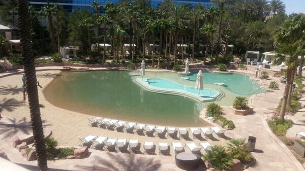 summitmedia: A picture from our poolside office @HardRockHotelLV. Latest blog is about #MagentoImagine  http://t.co/tsCIxR1D1l http://t.co/vNRkiXvwxP