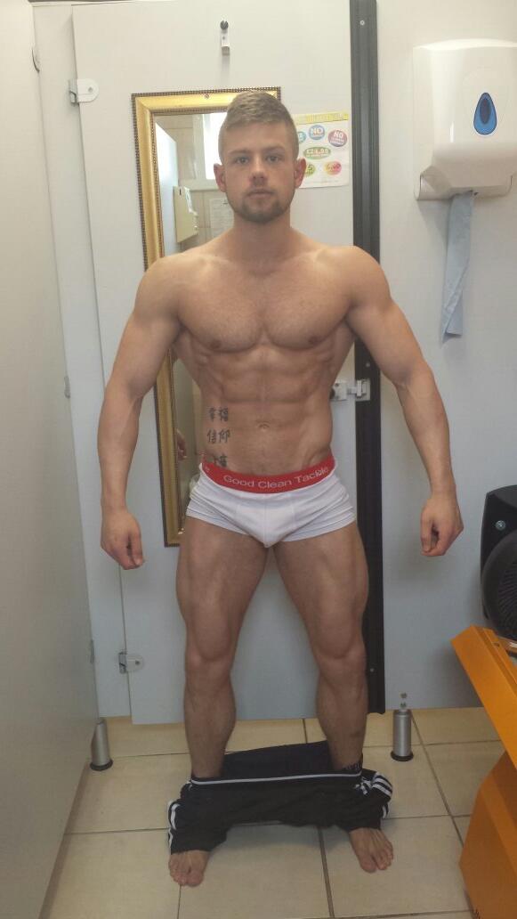 Boners boy public showers gay shaved
