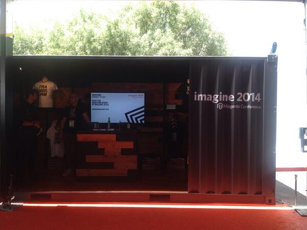 magento: MT @dessner Awesome @magento @boxpark store at #MagentoImagine http://t.co/a6ndj9VCcY