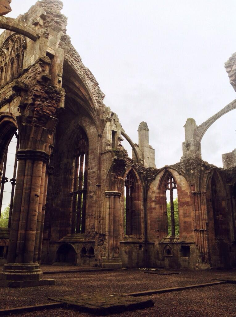 Twitter / zemotion: Visited Melrose Abbey today, ...