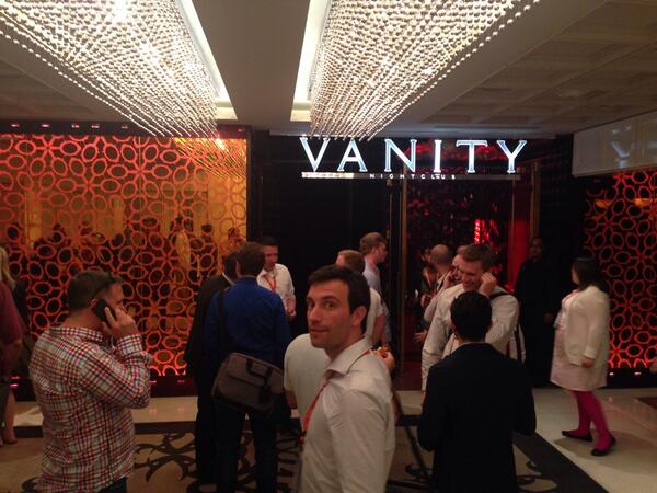 gsautereau: #MagentoImagine networking opening party @ Vanity http://t.co/SgVDrW3oj1
