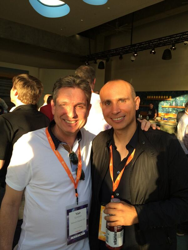 yairspitzer: With the Magento King #MagentoImagine. Has built a phenomenal product with an unbelievable Eco-system. game changer! http://t.co/vXIEwqOsN6