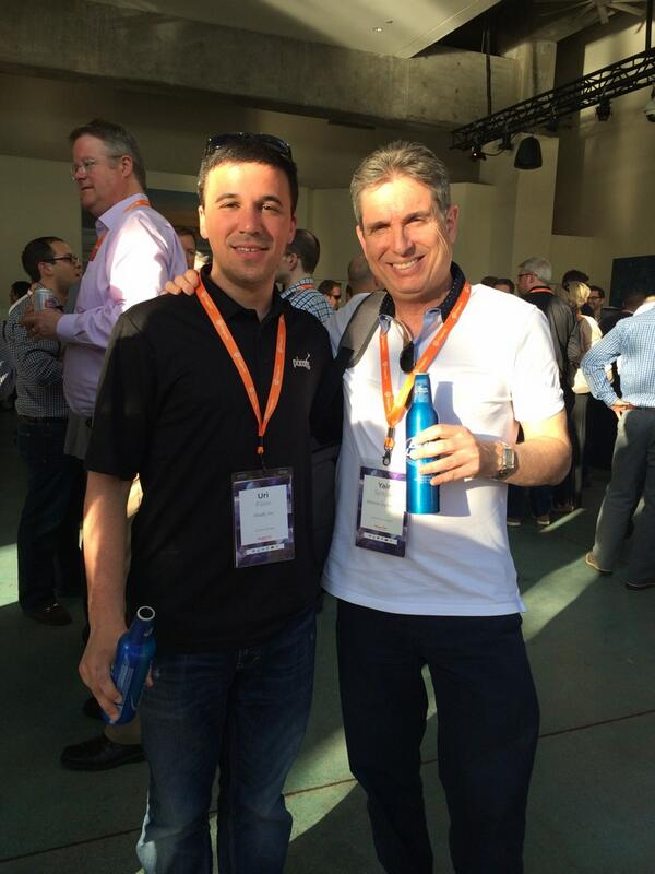yairspitzer: With Uri FOOX of Pixafy #MagentoImagine  - has built a lovely company focused on Magento. Fantastic plans going fwd http://t.co/5U5HK5gNe5